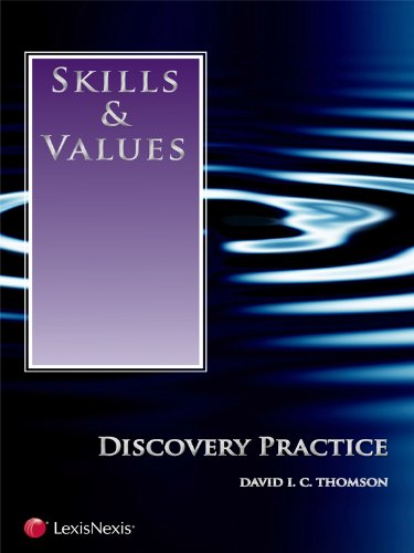 Skills & Values: Discovery Practice (2010)