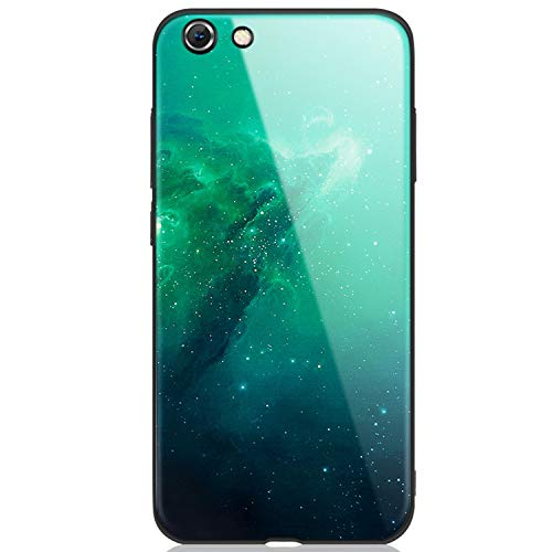 Star Space Tempered Glass Case for iPhone X 8 7 Plus 6 6S Soft Edge Skin Cover Glass Slim Capa for iPhone6S XR XS Max,06,for iPhone - Moon Ipod Touch 5 Case Sailor