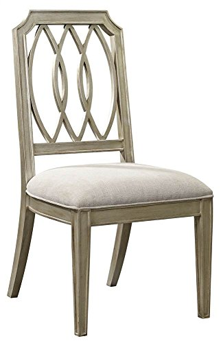 [Dining Side Chair in Antique Gold Finish] (Bassett Dining Room Furniture)