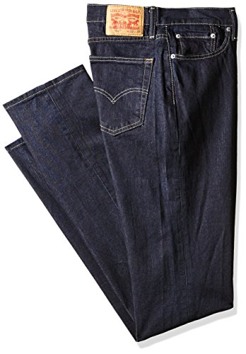 Levi's Men's Big and Tall 514 Straight Fit Jean, Dark Hollow, 50W X 32L (Levis Blue Dark)