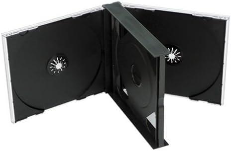 CUIDATUMUSICA 5 Cajas Gruesas para Doble CD Compact Disc /: Amazon ...