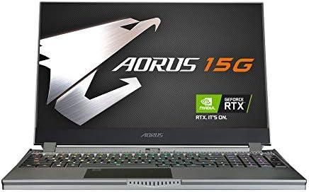 [2020] AORUS 15G (KB) Performance Gaming Laptop, 15.6-inch FHD 240Hz IPS, GeForce RTX 2060, 10th Gen Intel i7-10750H, 16GB DDR4, 512GB NVMe SSD