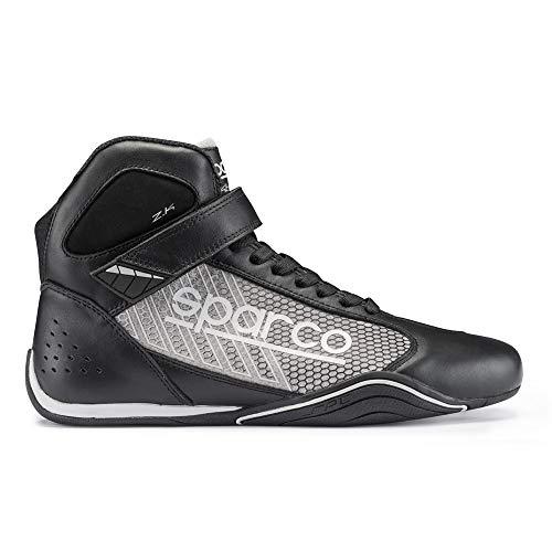 Sparco S00125739NRSI 00125739NRSI, Black/Silver, 39