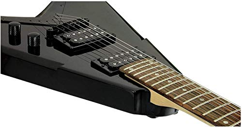 Dean V Dave Mustaine Guitar, Bolt-on Classic Black