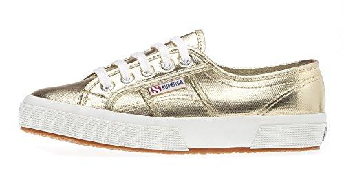 Superga 2750- COTMETU S002HG0, Sneaker donna Oro (Gold (Gold))