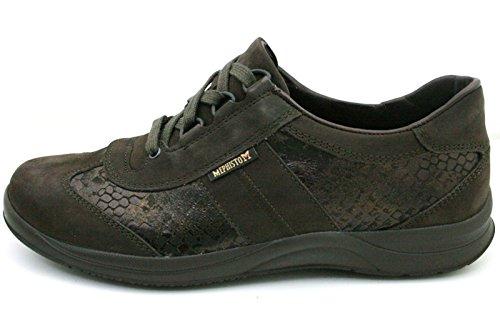 5400 P5101074 STYLBUCK LASER Marr de Mephisto mujer nobuck casual para BLACK Zapatos cuero OgE1xqI