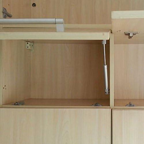 como Muestra Vktech/® Resorte de Gas Hidr/áulico Elevaci/ón Neum/ática Spring Stay para Mueble de Cocina
