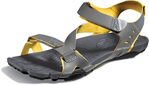 Speedo Mens Sandalo Quantico Darkgull Grigio / Nero