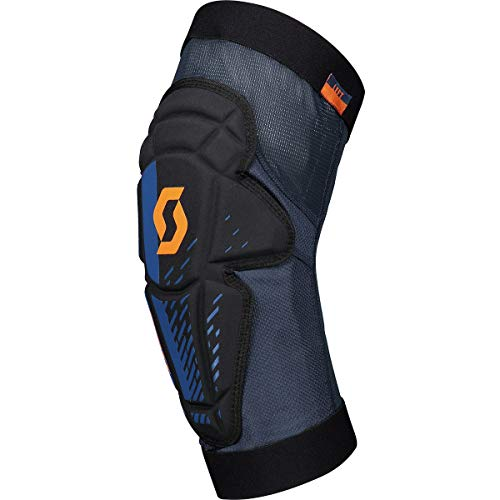 Scott Mission Knee Pads Black/Lunar Blue, L