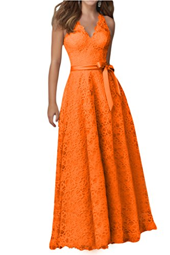 Promgirl House - Robe - Trapèze - Femme -  orange - 34