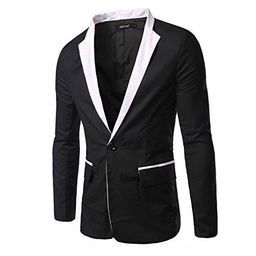 Amazon.com: Fmeijia - Traje para hombre de moda, casual, con ...
