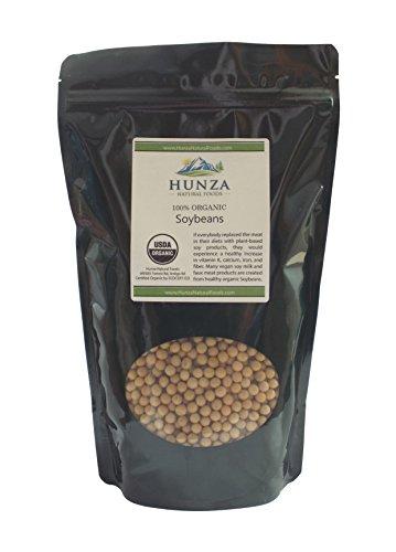 Hunza Organic Soybeans (2 lbs)