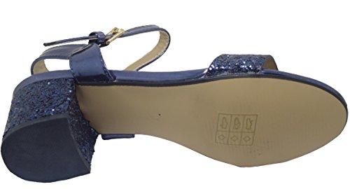 Pour Femme Sandales Bleu Divine Marine 5xApWqw4