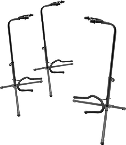 On-Stage Stands Tubular Guitar Stand 3-Pack by OnStage