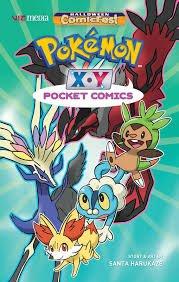 Pokemon X*Y Pocket Comics #1 Halloween Comicfest Variant Edition pdf epub