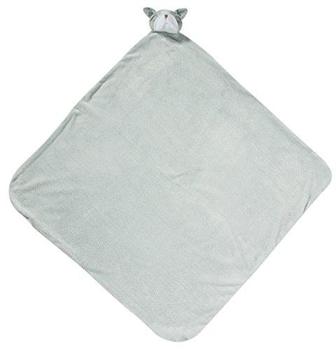 Angel Dear Grey BullDog Napping Blanket ()