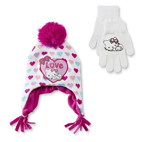 (Charmmy kitty hat and gloves)