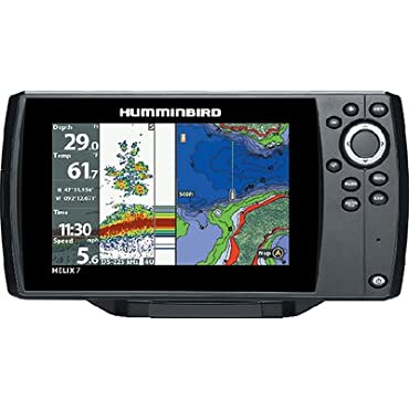 Humminbird HELIX 7 CHIRP SI Combo Fishfinder/GPS/Chartplotter with Side Imaging Networking & Bluetooth