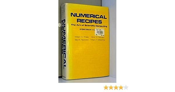 FORTRAN numerical recipes