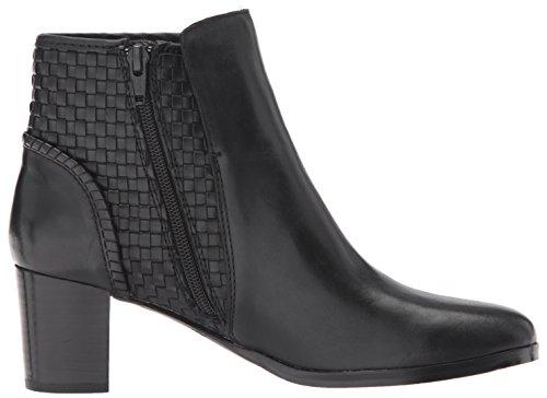 Jack Rogers Womens Deborah Smooth Ankle Boot Black Leather 9GxTwEUULo