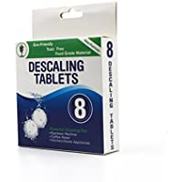 Descaling Tablets 8 Pack for Coffee & Espresso Machines, Eco-Friendly