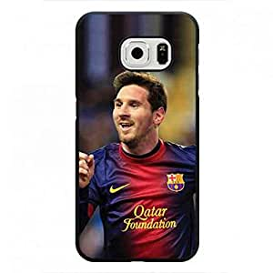 Plastic Phone funda Cover For Samsung Galaxy S6 Edge,Lionel Messi Phone funda ,Samsung Galaxy S6 Edge Back Cover