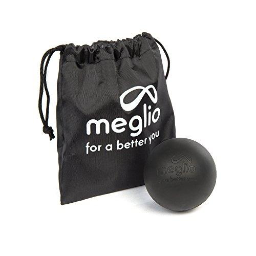 Meglio Lacrosse Boule de massage–pour Self Ciblant détente Myofasciale–arrière-plan Tissus profonds avec Trigger Point Massage–Sac de Transport inclus