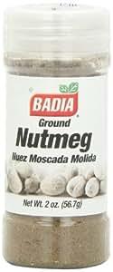 Badia Nutmeg Ground, 2-Ounce (Pack of 12)