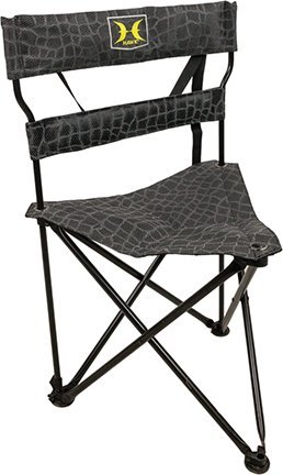 Hawk Stealth Tri-Stool - Silent, Comfortable, Portable Chair for Camping, Hunting, Fishing, Backpacking, and More by Hawk