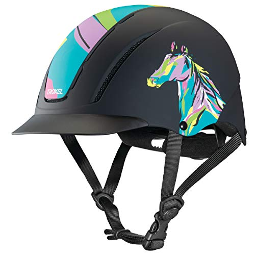 (TROXEL Performance Headgear Troxel Spirit Pop Art Pony Helmet Popart Small)