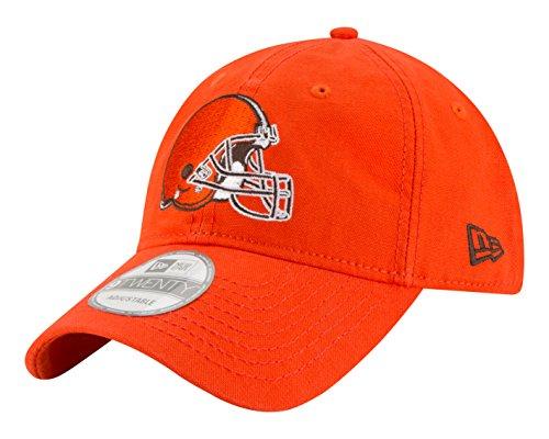 New Era NFL Cleveland Browns Core Shore Secondary 9TWENTY Adjustable Cap, One Size, Orange
