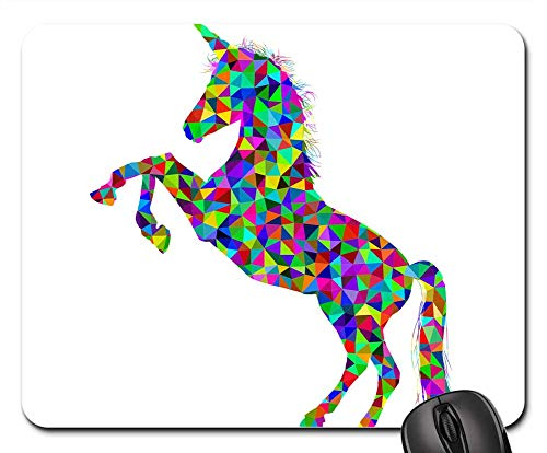 Mouse Pads - Unicorn Horn Horse Equine Animal Mythical