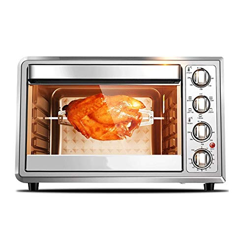 LQRYJDZ Electric Oven,2000W,Toast Oven,Pizza Baking Cake Bread Automatic Electric Oven 38 liters - Bake - Broil - Roast,Large Capacity Energy Saving and Quick Heat, Suitable for5-8 People by LQRYJDZ