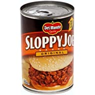 Del Monte Regular Sloppy Joe Sauce, 15-Ounce (Pack of 12)