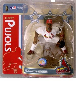 McFarlane Toys MLB Sports Picks Series 19 Action Figure Albert Pujols (St. Louis Cardinals) ()