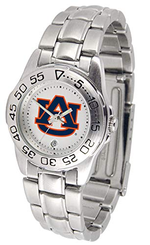 - NCAA Auburn Tigers Ladies Gameday Sport Watch with Stainless Steel Band
