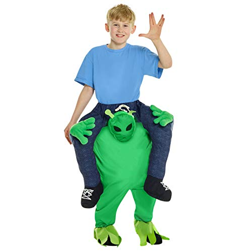 Morphsuits Alien Piggyback Kids Costume, One Size