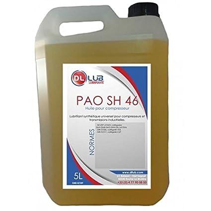 dllub - Aceite compresor sintético pao 46 - 5 litros): Amazon.es ...