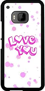 Funda para Htc One M9 - Te Amo by More colors in life