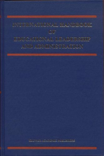 Download International Handbook of Educational Leadership and Administration (Springer International Handbooks of Education) Pdf