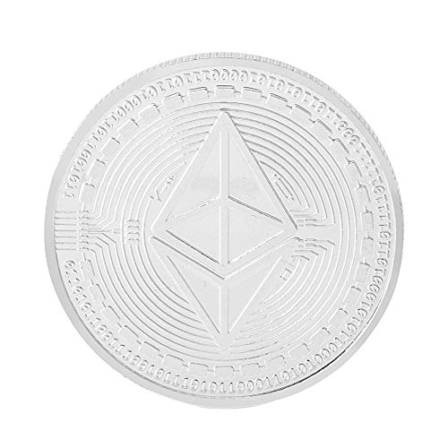 Peyan Ethereum (ETH) Coin,Line Embossed 3D Print,Commemorative Coin CelebrateBuilding Smart Contracts and DApps,Novelty Coin Souvenir - Souvenirs Novelties