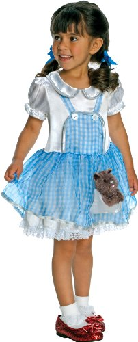 Girl Scarecrow Halloween Costumes (Wizard Of Oz Costume, Dorothy Costume, 1-2 Years)