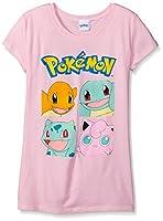 Pokemon Girls' Character Group S/s Tee