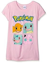 Pokémon girls Big Girls Character Group S/S Tee