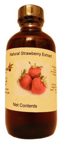 Strawberry Extract 4 oz