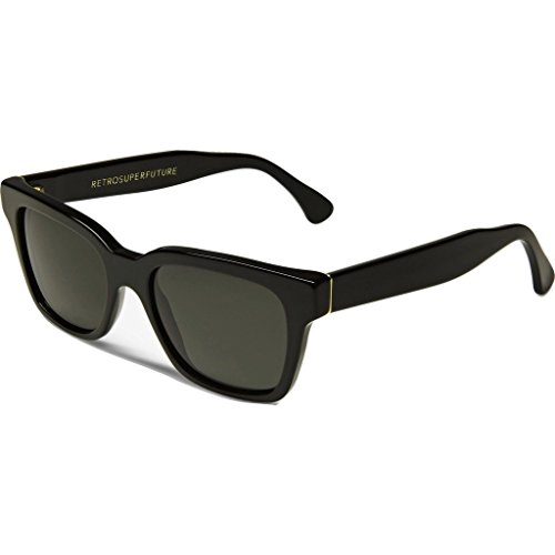 Super Sunglasses Women's America Sunglasses, Black, One - America Super Sunglasses