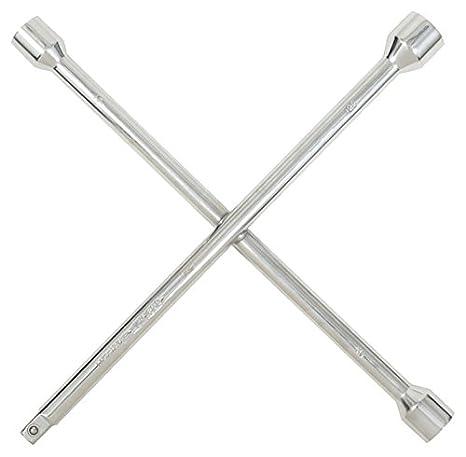 KS Tools 518.1153 Radkreuzschl/üssel f.PKW,1//2x17x19x21mm