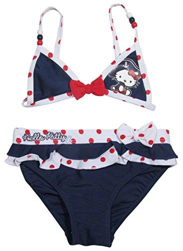 Hello Kitty Bikini Kollektion 2016 Badesachen 92 98 104 110 116 122 128 Mädchen Schwimmbekleidung Sommer Neu Blau (98 - 104)