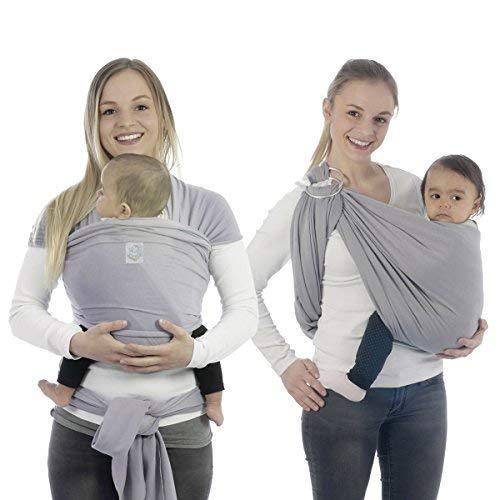 BabyBino Baby Carrier Sling Wrap Premium Quality Ergonomic Newborn Holder