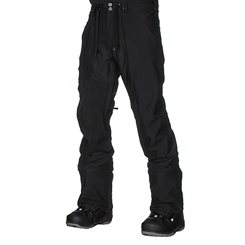 Burton Men's Southside Mid Fit Pants, True Black, X Small